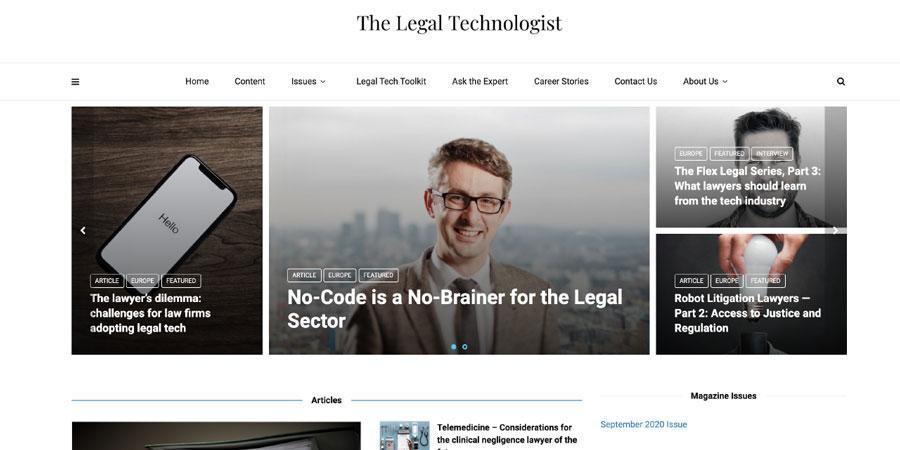 Legal technologist